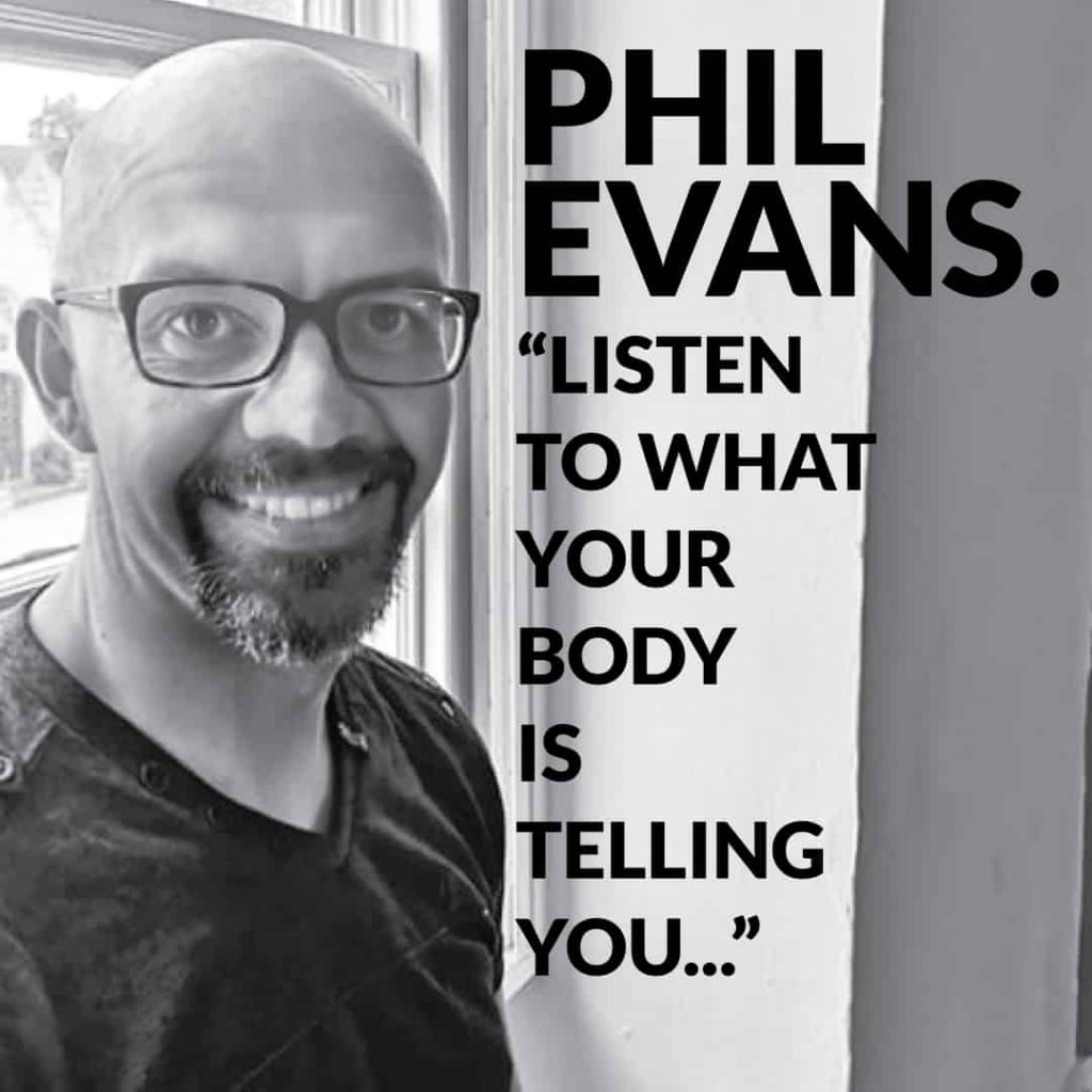 Phil Evans yoga teacher