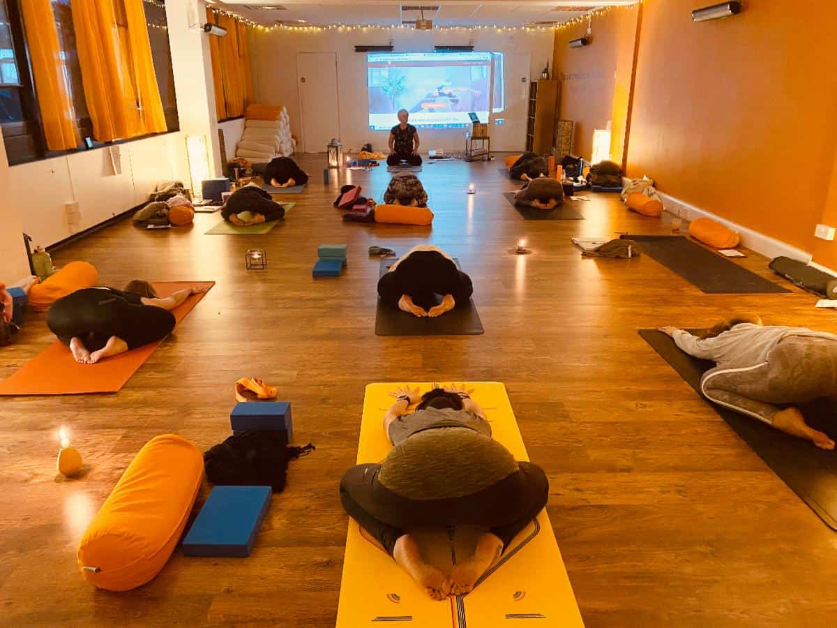 Yoga & Pilates in Sutton Coldfield with Sandstone